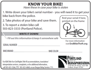 More bike theft prevention tips.