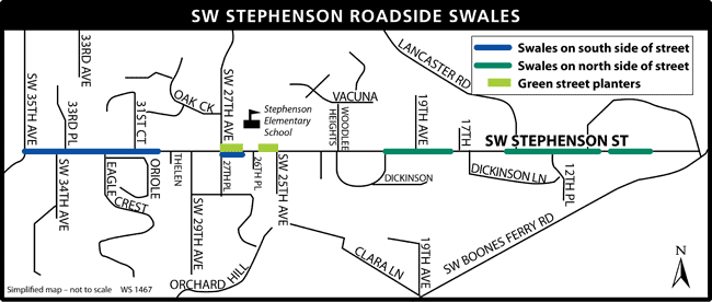 Stephenson Project Map