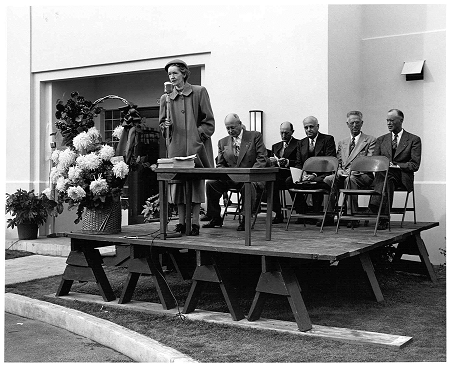 1952 treatment plant dedication