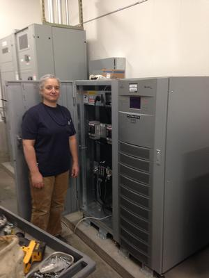 Water bureau electricians at work water blog the city for Electric motor repair portland oregon