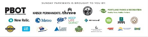 Sunday Parkways sponsors