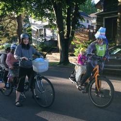 Bike commuting with the kids
