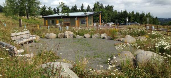 Visitor Center at Powell Butte Nature Park
