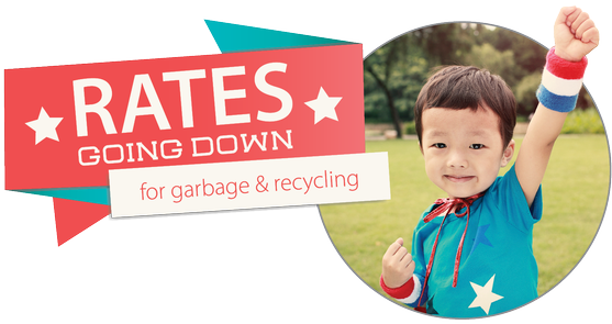 Rates Going Down For Garbage Recycling And Compost The