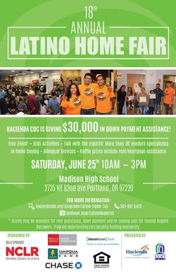 Hacienda Home Fair Sat. 6/25 10 AM-3 PM at Madison High School