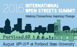 The 2016 International Open Streets Summit, Aug. 18-21, 2016