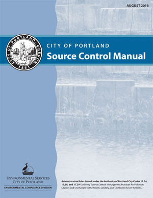 Photo of cover of the Source Control Manual