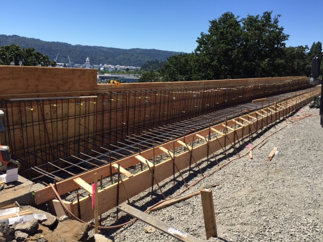 Rebar Placement - PHOTOS | Photo Gallery | The City of Portland, Oregon