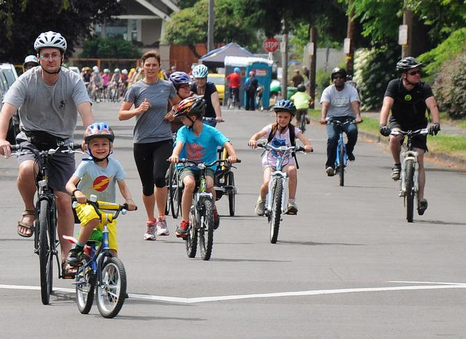Sunday Parkways happy