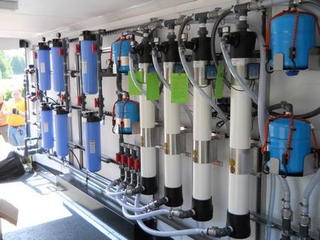 System can produce 30,000 gallons per day of drinking water from any fresh water source