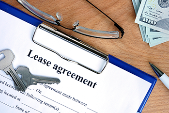 Lease agreement and keys