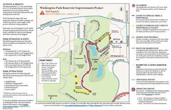 Maps of Park Impacts: Sept. 12, 2016 - March 2018