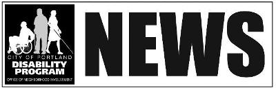 Banner - Logo for the Disability NEWS