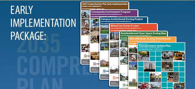 Covers of several implementation project reports