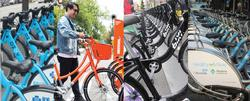 pictures of different bikeshare bikes