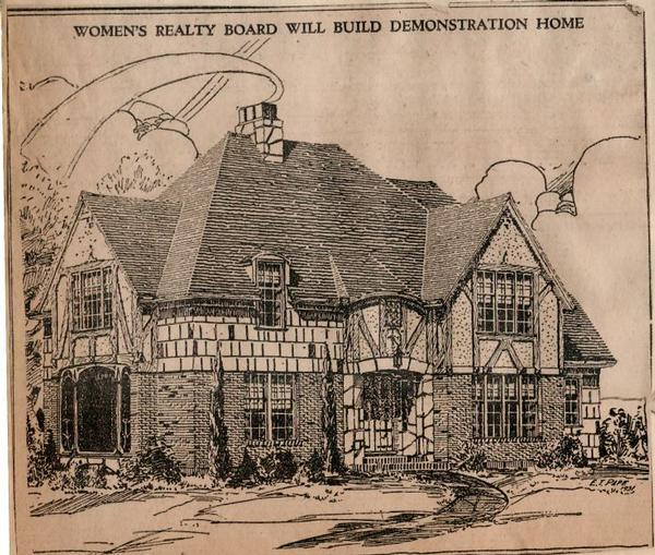 1931 Women's Realty Board house in Eastmoreland