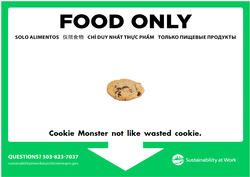Cookie  Monster Compost Poster