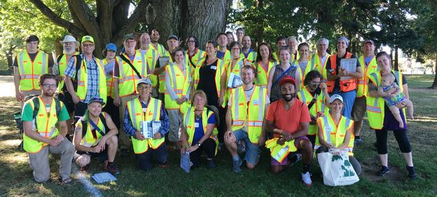 Portland tree inventory volunteers, join us
