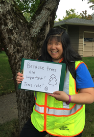 Volunteer: trees are important!