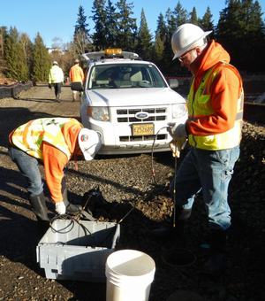 Measuring landslide movement of the Washington Park Landslide