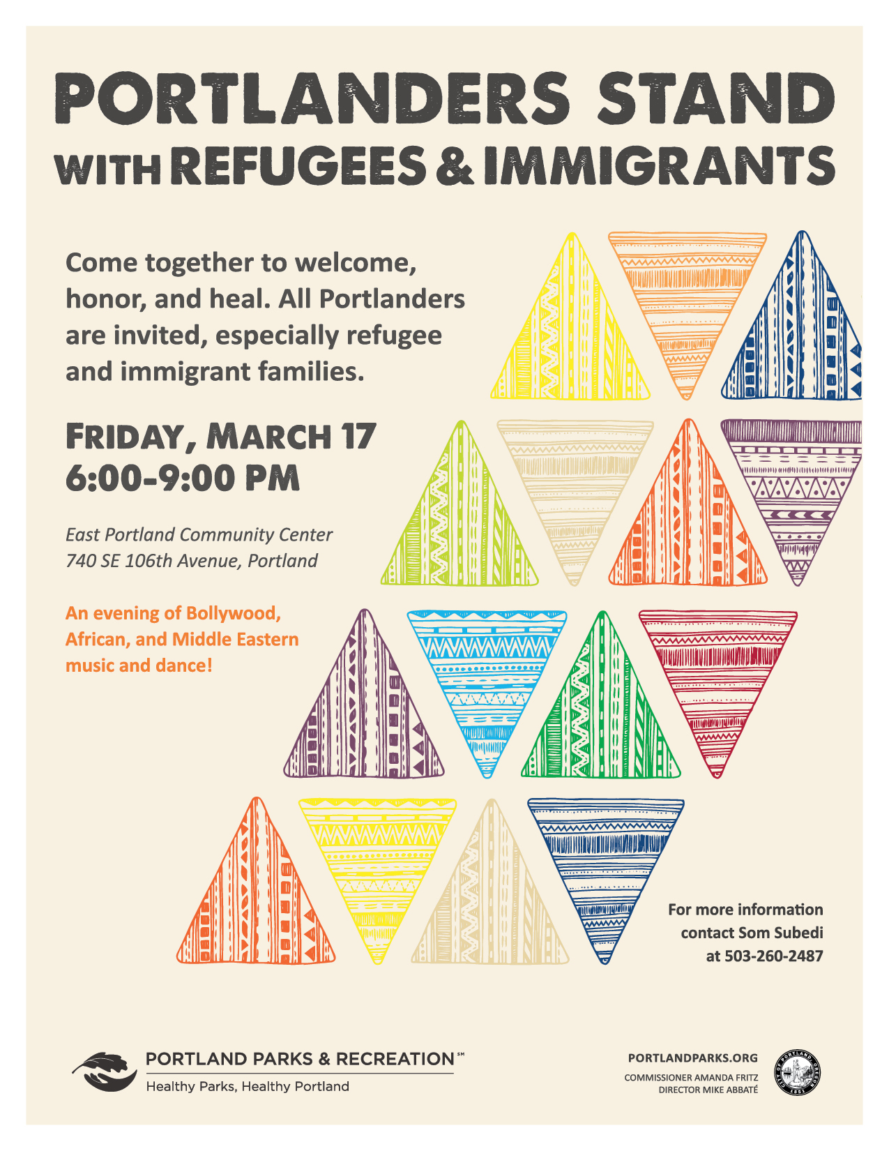 Portlanders Stand with Refugees & Immigrants