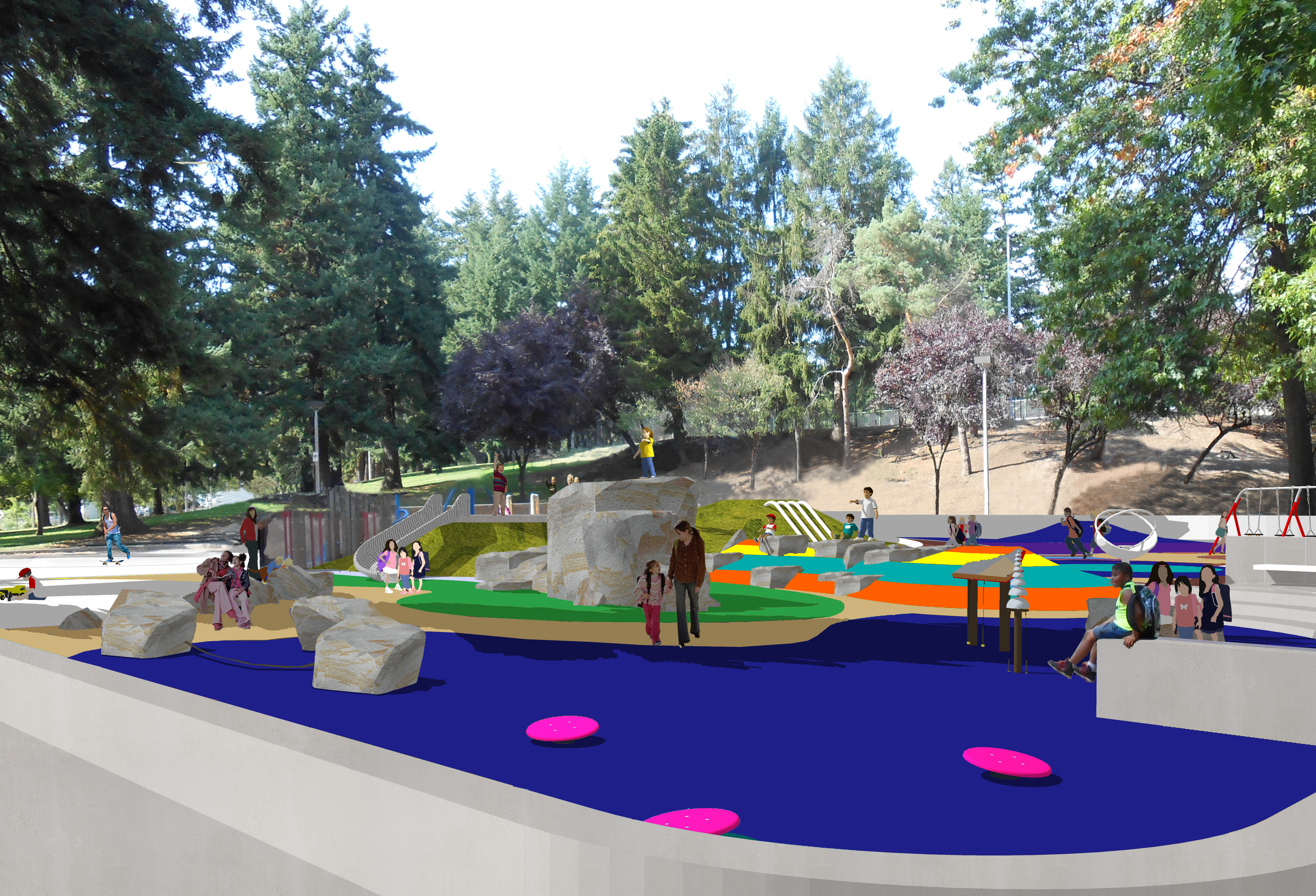 Lents Playground rendering
