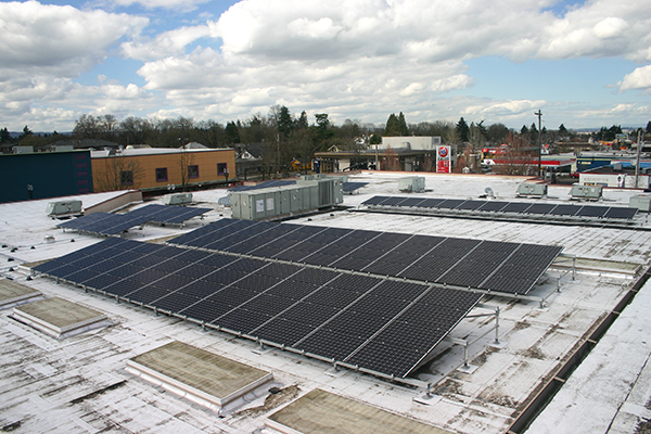 Solar project at North Precinct