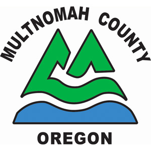Graphic of Multnomah County logo