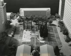 Model of potential Pioneer Courthouse Square