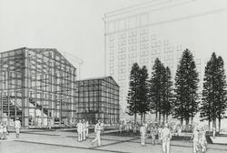 Rendering of potential design