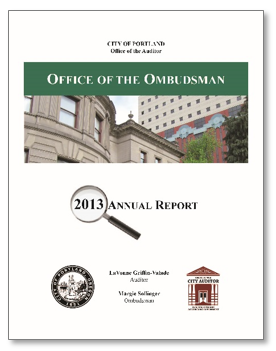 2013 Ombudsman Annual Report