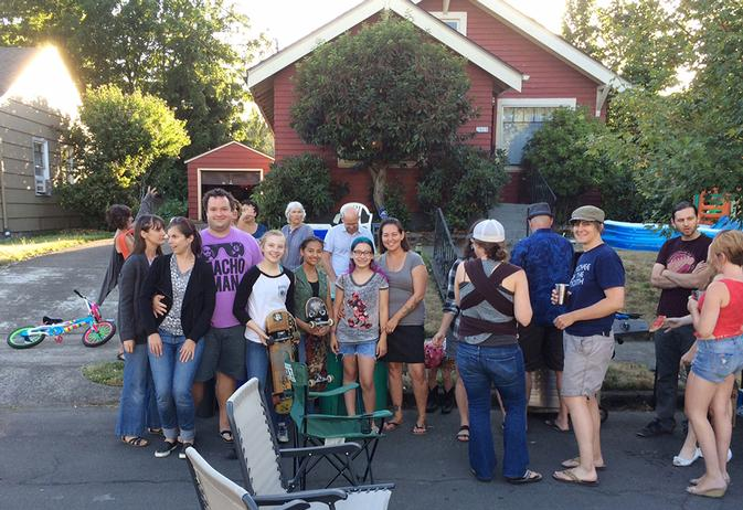 North Portland NNO block party