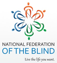 Graphic of National Federation of the Blind logo