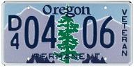 Veteran Plate entry
