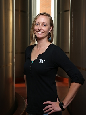 Widmer Brewing employee