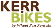 Graphic of Kerr Bikes logo