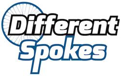 Graphic of Different Spokes logo
