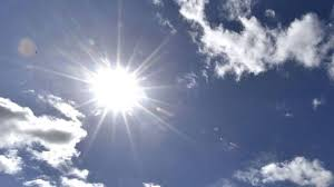Photo of hot sun overhead