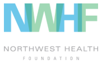 Graphic of NW Health Foundation logo