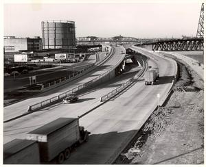 Onramp to Steel Bridge 1950