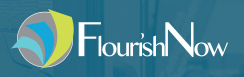 Graphic of FlourishNow logo
