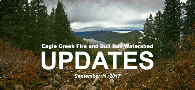 Eagle Creek Fire Updates Sept 11th
