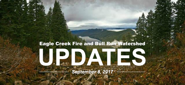 Eagle Creek Fire Updates Sept 8th
