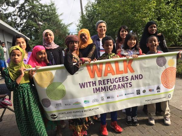 Walk With Refugees and Immigrants