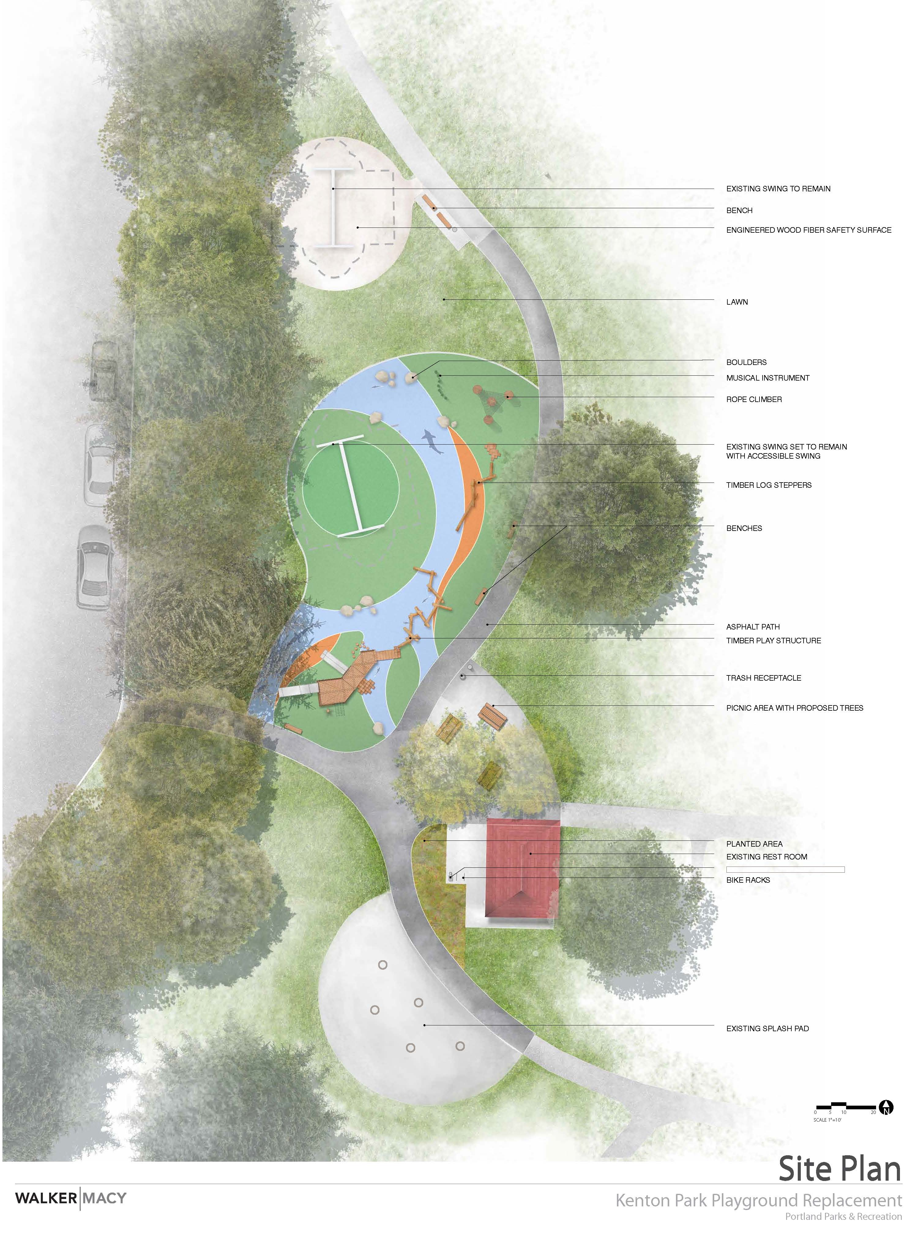 Plan for Playground