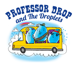 Logo for Professor Drop show