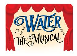 Logo - Water the musical