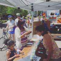 PedPDX volunteers at Sunday Parkways
