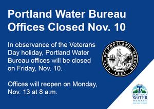 Veterans Day Closure