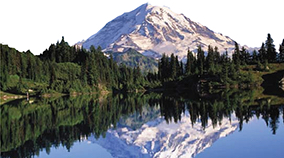 Photo of Mt Rainier